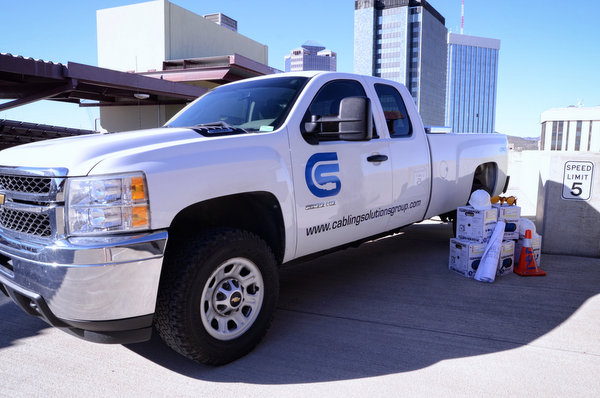 Cabling Solutions Group Truck w/ Logo